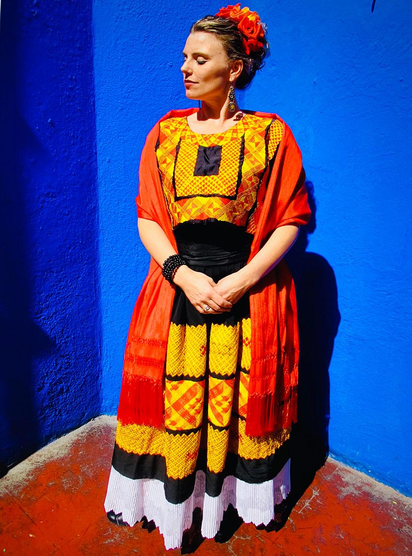 Hanne Tveter er sterkt inspirert av Frida Kahlo