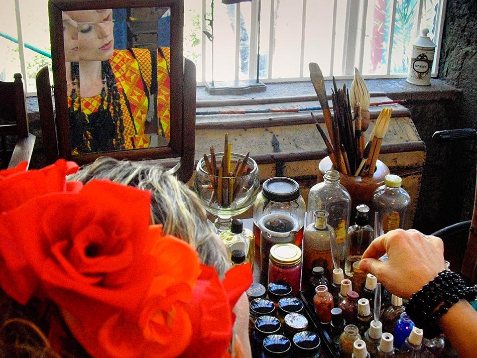 Frida Kahlo hadde en sterk livshistorie som vises i teaterkonserten.