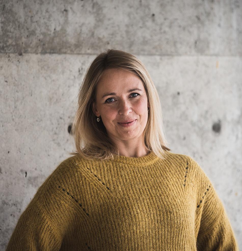 Ingrid Helgesen er festivalsjef for Bergen Design Festival.