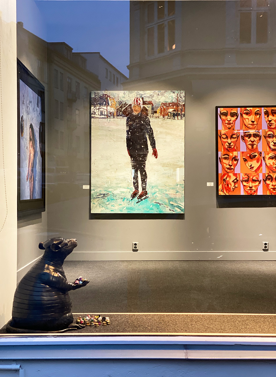 Høytidsutstillingen i Galleri A rommer 32 kunstnere.