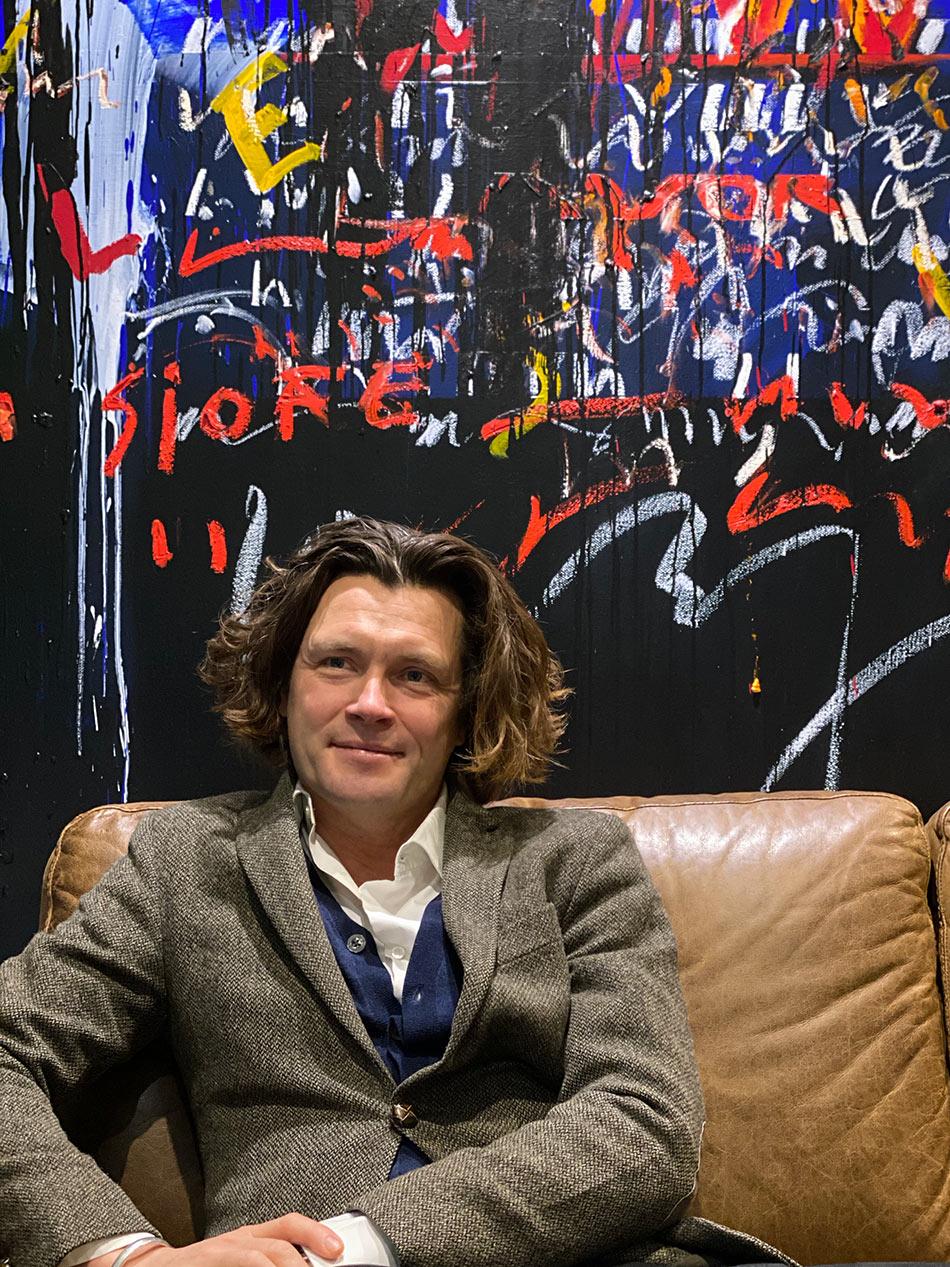 Andreas Engelstad åpnet Galleri A Minor i 2002.