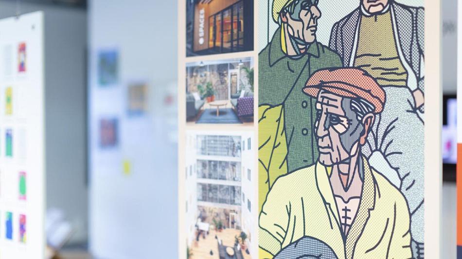 Visuelt-utstillingen vises i Bergen under Bergen Design Festival.