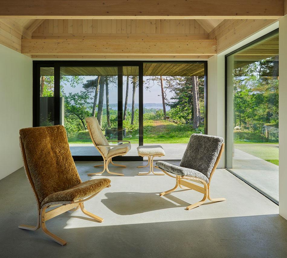 Siesta er designet av Ingemar Relling. Sønnen Knut var involvert i det nye designet.